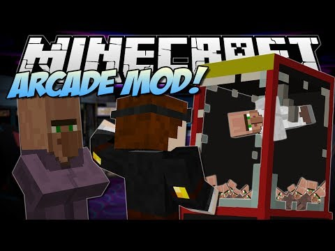 Minecraft | ARCADE MOD! (Claw Machines, Prizes & More!) | Mod Showcase - TheDiamondMinecart  - uapX2CLOqt4 -