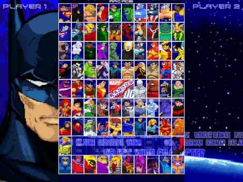 Mugen games download dc vs marvel