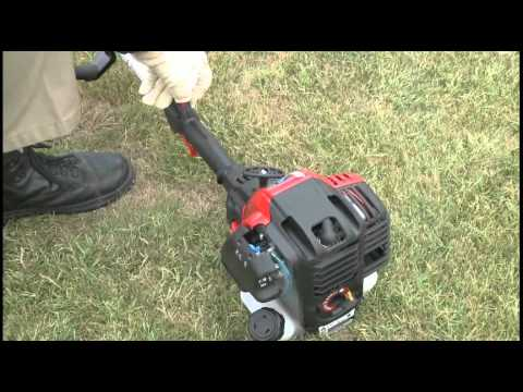 The Tb525 Ec Gas String Trimmer How To Set Up Your 4