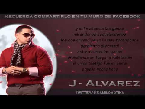 Mirandonos - J Alvarez (LETRA)