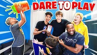 2HYPE Plays INSANE DARE CARD GAME!