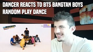 DANCER REACTS TO BTS Bangtan Boys (방탄소년단) Random Play Dance