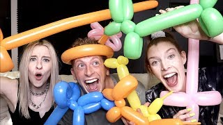 MAKING BALLOON ANIMALS w/ MATT KING