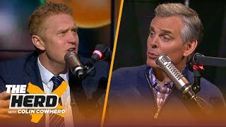 Brian Scalabrine challenges Colin's criticism of Kyrie, talks Celtics & Westbrook   NBA   THE HERD