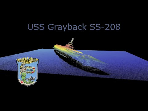 USS Grayback Discovered offshore Okinawa Japan
