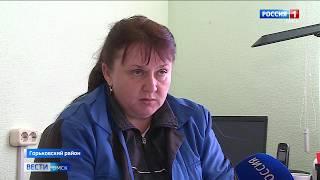 В селе Осиповка Горьковского района сгорели два жилых дома и десятки хозпостроек
