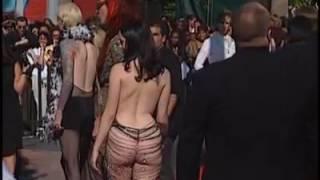 Marilyn Manson y Rose mcgowan MTV Music Video Awards 1998