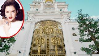 Đây là ngôi nhà biệt thự dát vàng của Lý Nhã Kỳ khiến dân tình choáng ngợp....