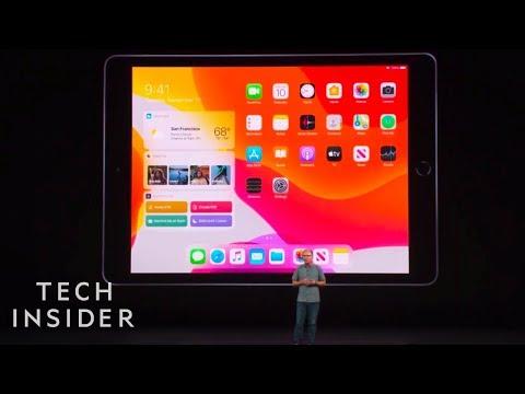 Watch Apple Unveil The New iPad