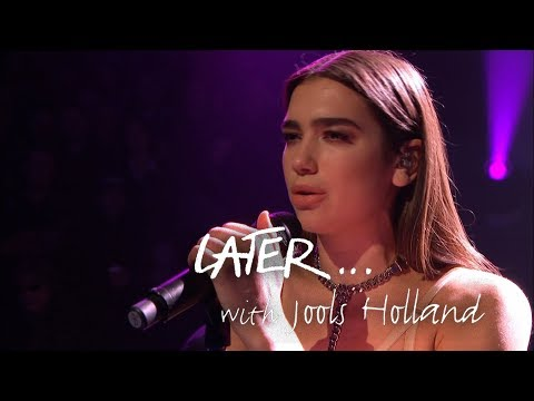 Dua Lipa  - Homesick - Later… with Jools Holland - BBC Two