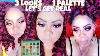 BH COSMETICS X DAISY MARQUEZ PALETTE HONEST REVIEW☆SWATCHES☆DEMO