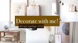 Decorate With Me! Spring Home Decor - HilalOrhan