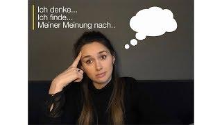 Redemittel Meinung äußern, B1/B2, Deutsch lernen (Diskussion)