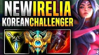 New Irelia Rework is Broken? - Korean Challenger Plays New Irelia Rework! | Be Challenger