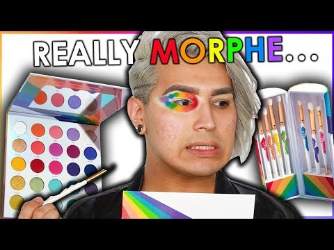 UNBIASED MORPHE 25L PRIDE PALETTE REVIEW... Watch Before You Buy