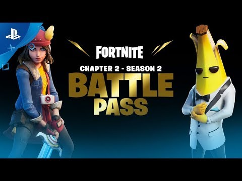 Fortnite | Chapter 2 Season 2 Battle Pass Gameplay Trailer | PS4