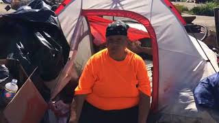 Homeless Camp Evictions in Santa Rosa, Day 2