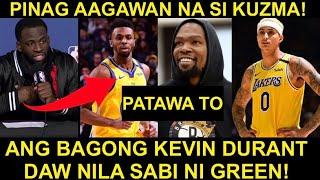 DRAYMOND GREEN, MAY BABALA SA LAKERS AT BUONG NBA! | PINAG AAGAWAN NA SI KUZMA SA TRADE MARKET!