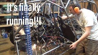 Honda VF 1000 buggy build part 12