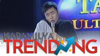 Lucky Robles imitates Anne Curtis' voice