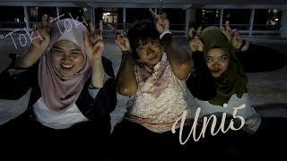 UNI5 - C'MON (remix) Dance Practice MV Reaction