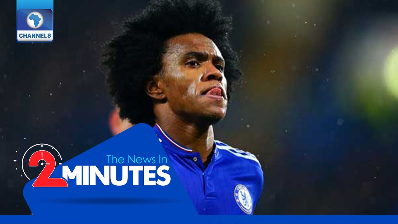 Recap: Willian Confirms Chelsea Exit After Seven Years
