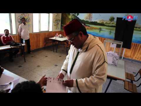وزير العدل والحريات يدلي بصوته يوم الاقتراع