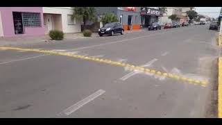 Mais um trecho da Bento Gonçalves é interditado para colocação de redutores de velocidade em Camaquã