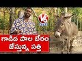 Bithiri Sathi sells donkey milk; Teenmaar News