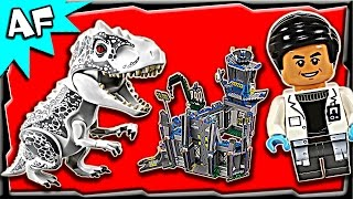 Lego Jurassic World INDOMINUS REX Breakout 75919 Stop Motion Build Review