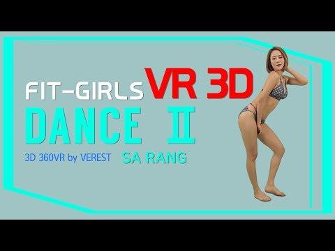[8k 3D 360 VR] Sarang bikini dance show by (Verest) 360 VR
