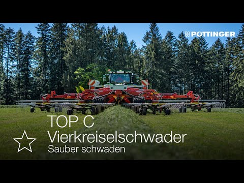 Neues Video: TOP C Schwadkreisel - sauber schwaden
