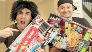 NERF vs BOOMCO: Unboxing WAR!