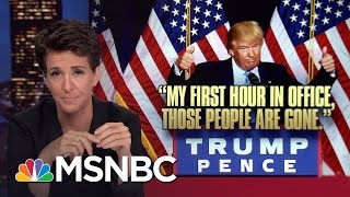 Donald Trump Nativist Speech Follows Dark US Pattern | Rachel Maddow | MSNBC