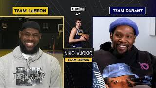 #TeamLeBron & #TeamDurant Draft | 2021 #NBAAllStar