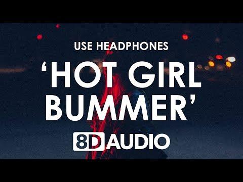 Blackbear - hot girl bummer (Lyrics / 8D AUDIO) 🎧