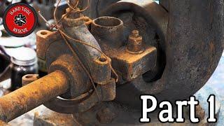 Antique Vertical Steam Engine [Restoration]