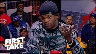 Lamar Jackson is confident he can succeed as a passer in the NFL   First Take