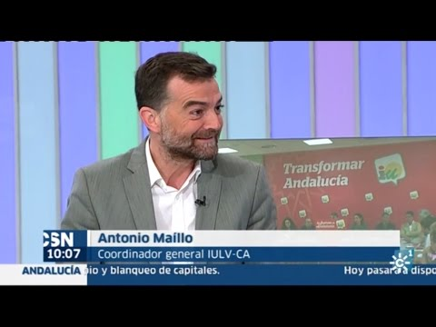 Antonio Maillo en Canal Sur, 24 octubre 2016