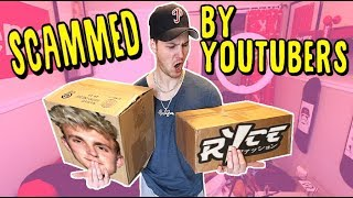 BUYING YOUTUBER MERCH. Who's Is The BIGGEST SCAM? (JAKE PAUL VS RICE GUM)