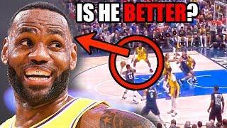 Is LeBron James Getting BETTER? (Ft. Lakers NBA Season, A Lot of Seasons, & Defense)