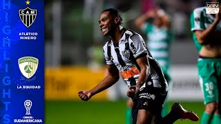 Atletico Mineiro 2-1 La Equidad - HIGHLIGHTS AND GOALS