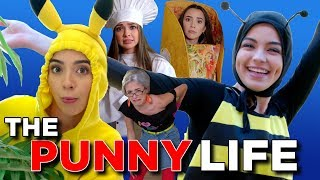 The Punny Life 4 - The BEST HALLOWEEN COSTUME PUNS  - Merrell Twins