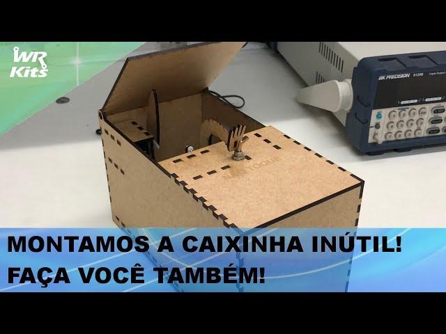 EXCELENTE PARA MAKERS: CAIXINHA TEIMOSA!