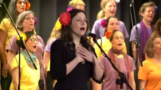 "May Erlewine & Family Folk Chorale - ""Never One Thing"" [LIVE at Arlington Town Hall]"