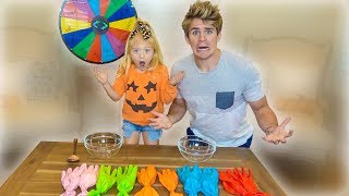 Don't Choose The Wrong Slime Glove Challenge!!!