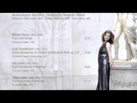 8 hungarian folk songs bartok pasztircsak kozlov
