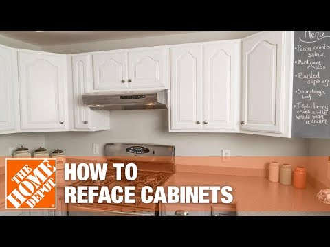 Rustoleum Cabinet Refacing The Home Depot Youtube