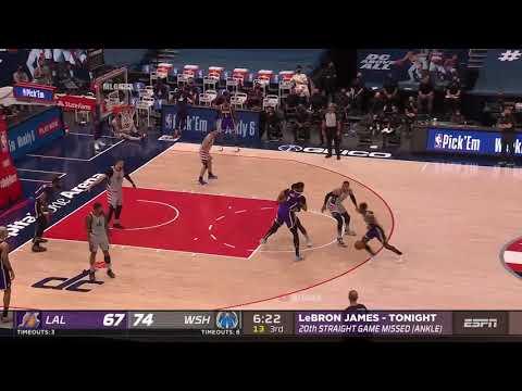 湖人vs巫師 例行賽 Highlights   2020 21 NBA Season
