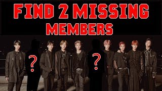 FIND 2 MISSING MEMBERS IN EACH KPOP GROUP !!